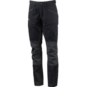 Lundhags Makke Pro Pantaloni Donna grigio/nero
